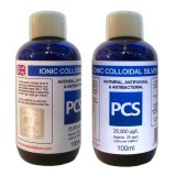 2 x Premium Colloidal Silver 25ppm - 100ml [2 For 1 Deal]